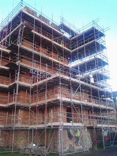 Scaffolding in Shrewsbury