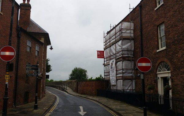 Scaffolding in Town Centre