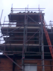 Scaffolding for Listed Property