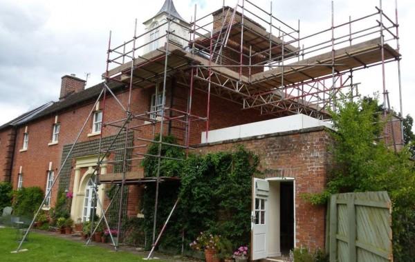 Scaffolding in Shrewsbury
